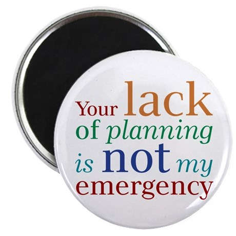 "Planning 2.25"" Magnet (100 pack)"