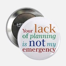 """Planning 2.25"""" Button (100 pack)"""