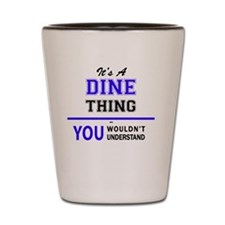 Cute Dining Shot Glass