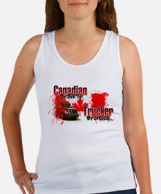 Canadian by Birth - Trucker by Choice Tank Top