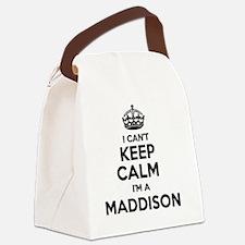 Cute Maddison Canvas Lunch Bag