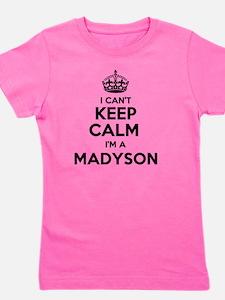 Cute Madyson Girl's Tee