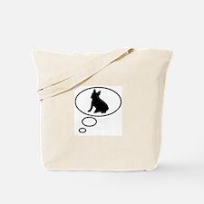 Thinking of French Bulldog Tote Bag