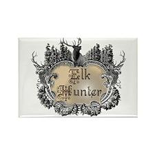 Elk hunter says you hunt elk! Rectangle Magnet