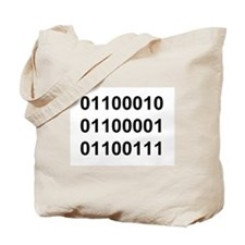 Binary Tote Bag