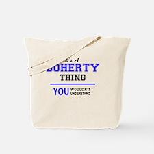 Unique Doherty Tote Bag