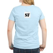 Sound Factory (SF) in black lettering T-Shirt