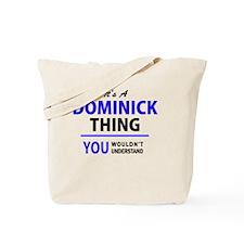 Cute Dominick Tote Bag