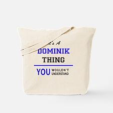 Cute Dominik Tote Bag