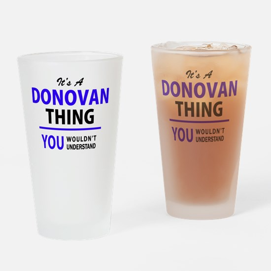 Cute Donovan Drinking Glass
