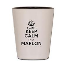 Funny Marlon Shot Glass