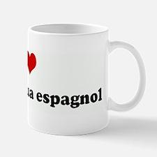 I Love perro de agua espagnol Mug