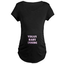 Vegan Baby Maternity T-Shirt