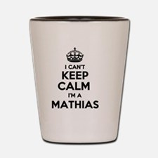 Unique Mathias Shot Glass
