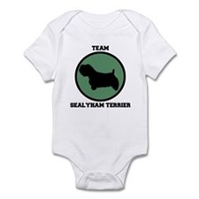 Team  Sealyham Terrier (green Infant Bodysuit