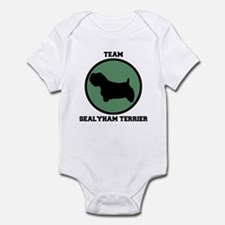 Team  Sealyham Terrier (green Infant Bodysuit