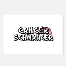 Cancer Schmancer Postcards (Package of 8)