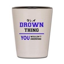 Cute Drown Shot Glass