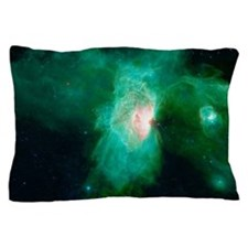Flame Nebula Pillow Case