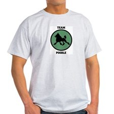 Team  Poodle (green) T-Shirt