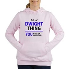 Cute Dwight Women's Hooded Sweatshirt
