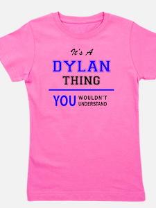 Cute Dylan Girl's Tee