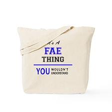 Cute Fae Tote Bag