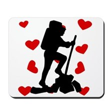 Hiker Hearts Mousepad