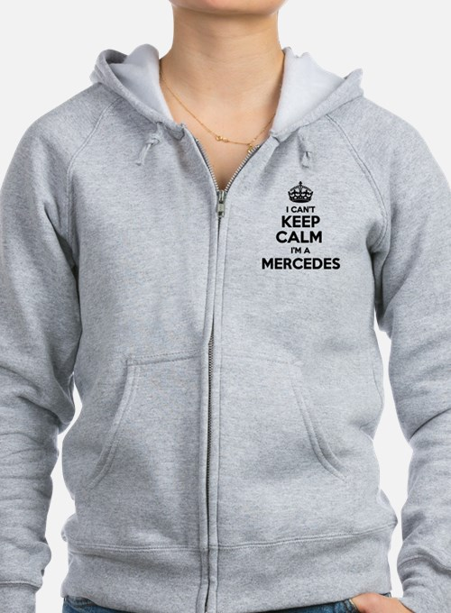Cute Mercedes Zip Hoody