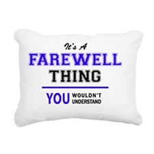 Unique Farewell Rectangular Canvas Pillow