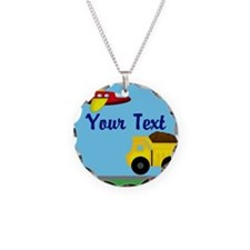 Trucks and Planes Necklace