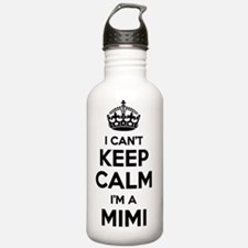 Keep calm and cuddle mimi grandmother Water Bottle