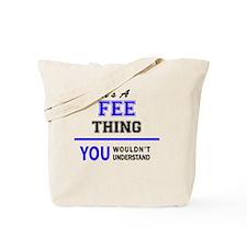 Cute Fee Tote Bag