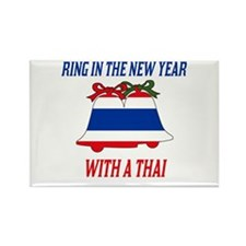 Thai New Years Rectangle Magnet