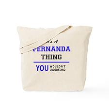 Cute Fernanda Tote Bag