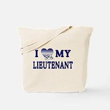 Love My Lieutenant Tote Bag