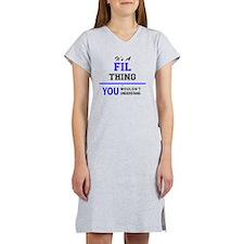 Unique Fils Women's Nightshirt