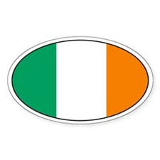 Irish Decals Oval Decal