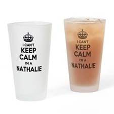 Funny Nathaly Drinking Glass