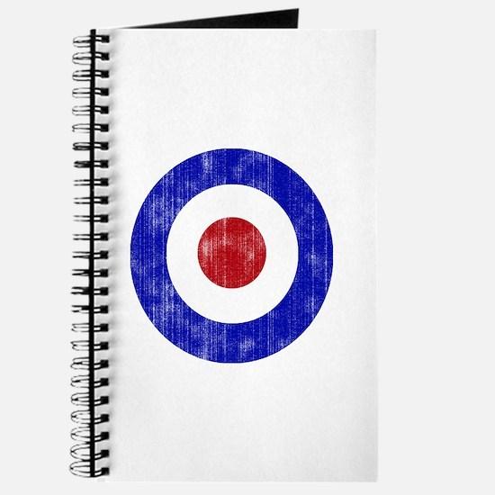 Sixties Mod Emblem Journal