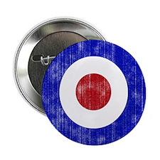 "Sixties Mod Emblem 2.25"" Button"