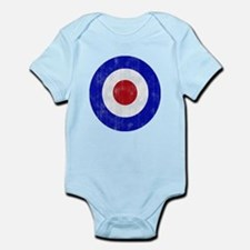 Sixties Mod Emblem Infant Bodysuit