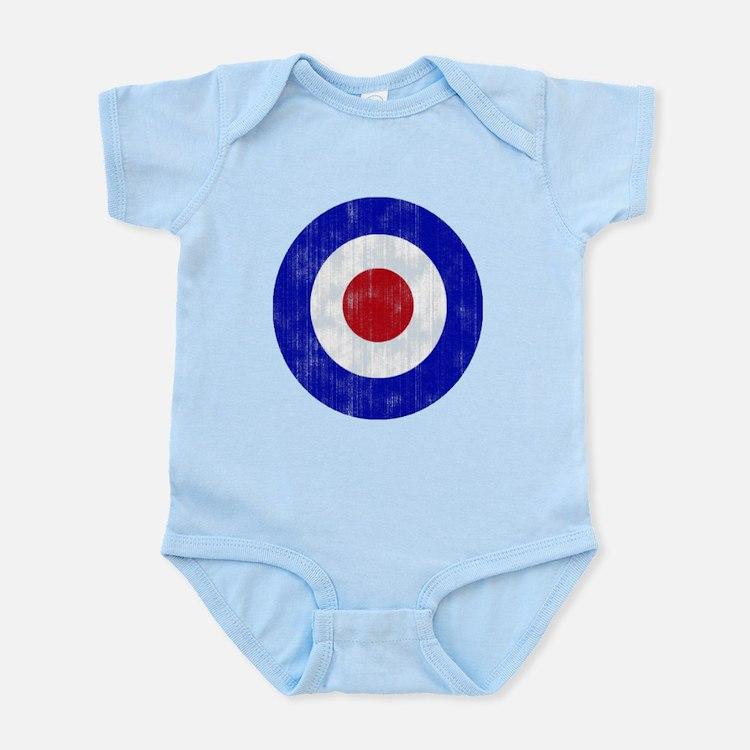 Sixties Mod Emblem Infant Bodysuit