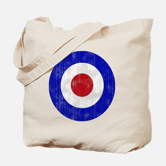 Sixties Mod Emblem Tote Bag