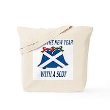 Scottish New Years Tote Bag