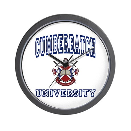 CUMBERBATCH University Wall Clock