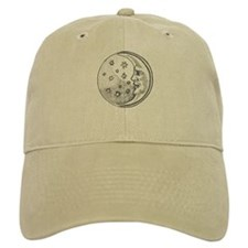 Moon With Stars Circle Cap