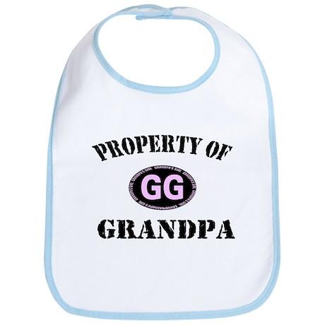 Property Of Grandpa Baby Bib
