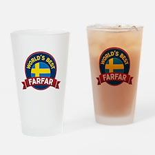 World's Best Farfar Drinking Glass