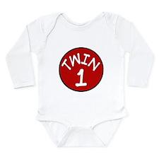 Cute Baby bump Long Sleeve Infant Bodysuit